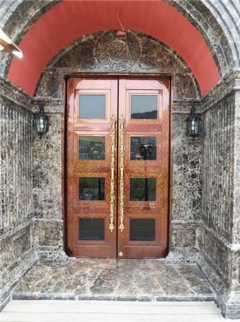 爱丁堡国际娱乐会所铜门案例